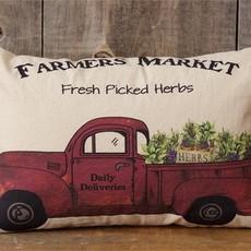 Audrey's Farmers Market Pillow