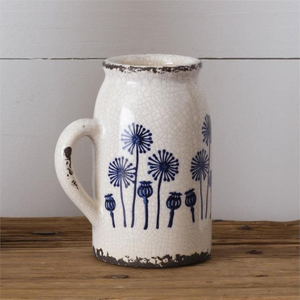 Audrey's Small Dandelion Pitcher Pottery