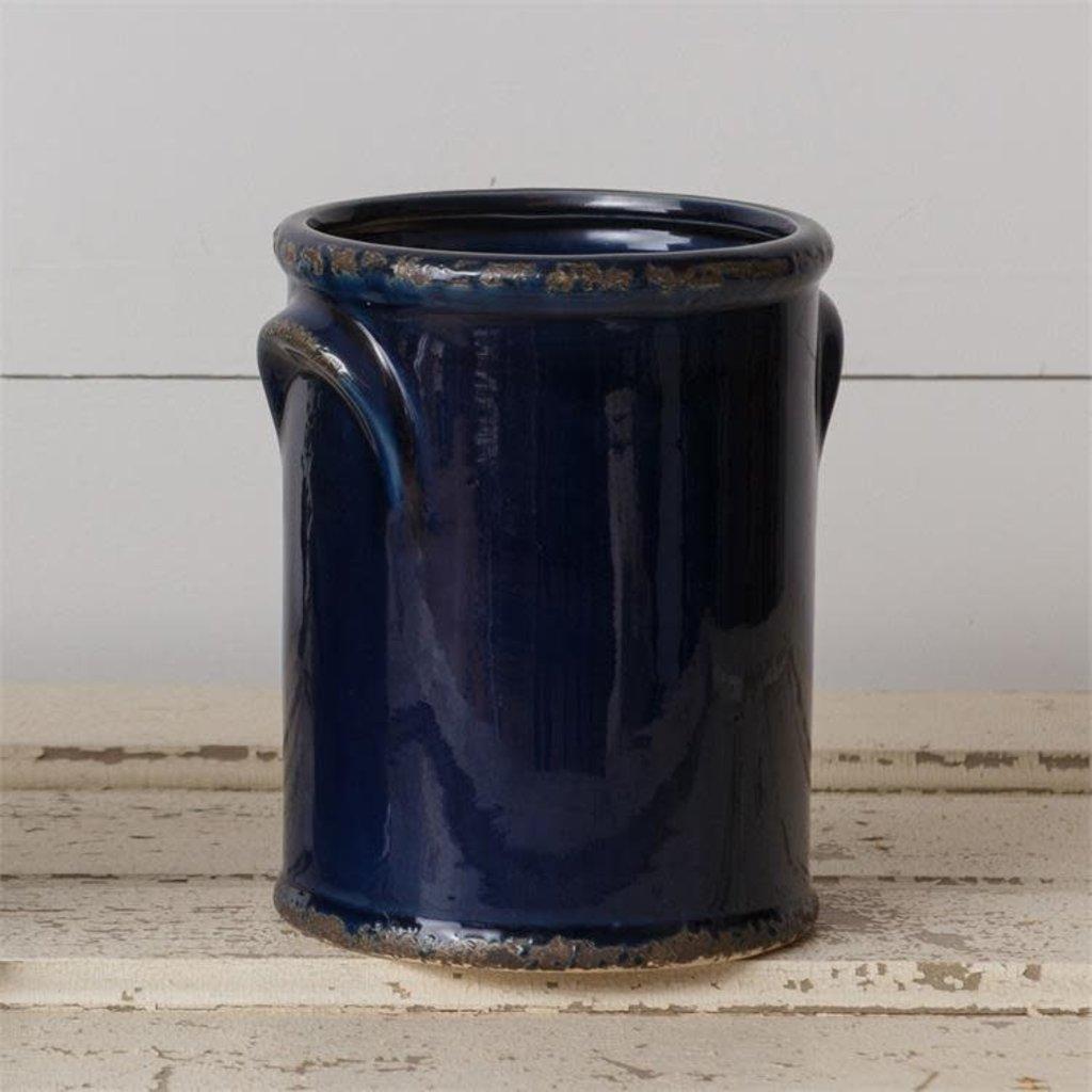 Audrey's Medium Navy Crock Pottery