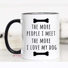 Mugsby I Love My Dog Mug