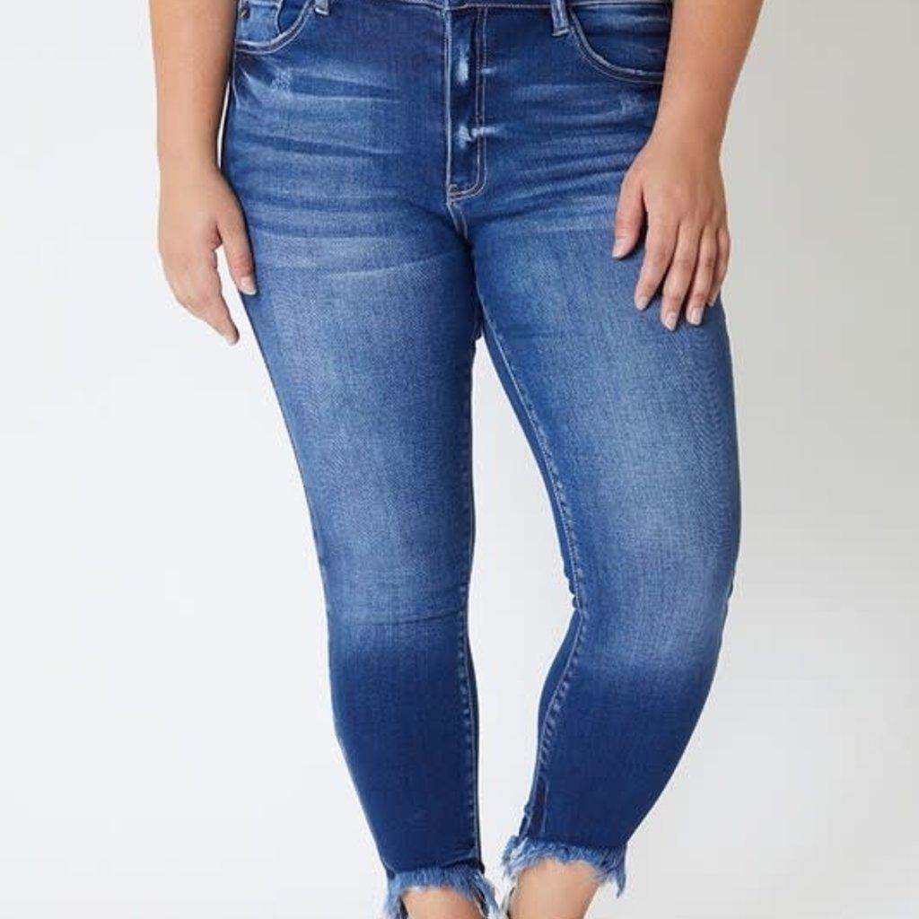 KanCan KanCan Ankle Fray Skinnies (3/25-3XL)
