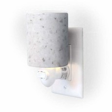 Happy Wax White Terrazzo Warmer Outlet Plug-In