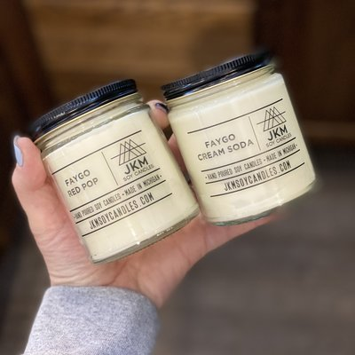 JKM Soy Candles JKM Michigan Made Soy Candles