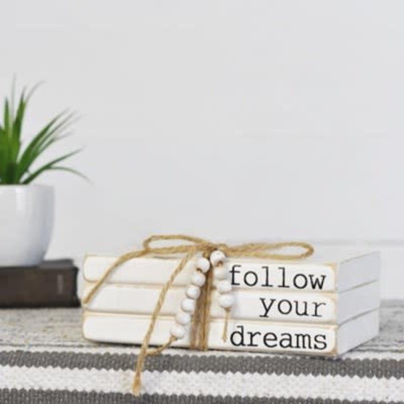 Pd Home & Garden Follow Your Dreams Book Block