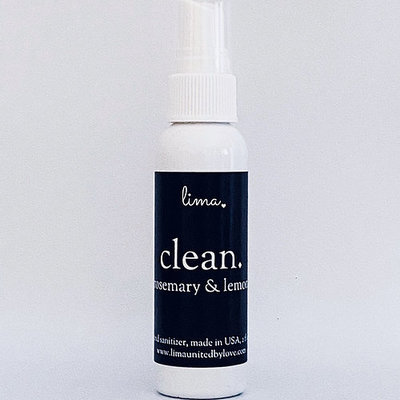 Lima LIMA Clean - Hand Sanitizer Spray (Rosemary Lemon Scent)