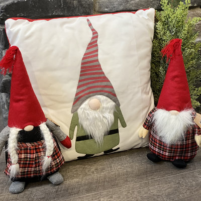 DEI Decorative Gnome Pillow