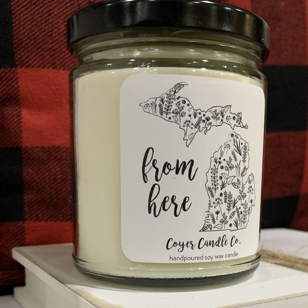 Coyer Candle Co. Coyer Candle Co Michigan Collection