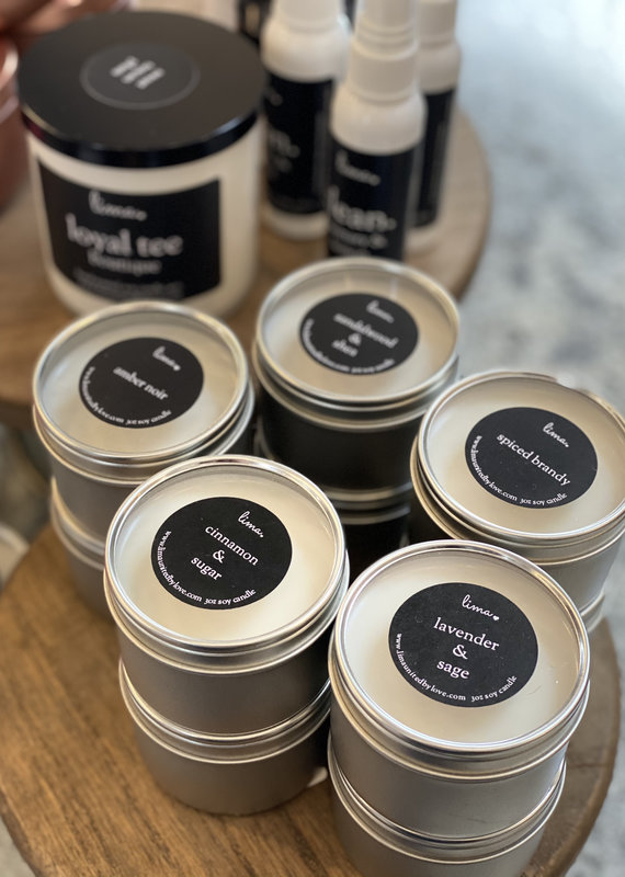 Lima LIMA 3oz Tin Candles (5 Scents)