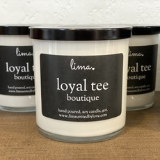 Lima LIMA 9oz *EXCLUSIVE* Loyal Tee Boutique Candle - Sweet Tuscan Plum