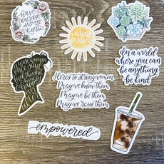Elyse Breanne Design Happy Decals by Elyse Breanne Designs