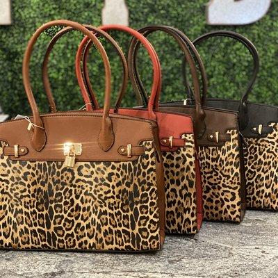 LTB Leopard Key Lock Leopard Handbag (4 Colors)