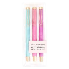 Sweet Water Decor Motivational Pen Set