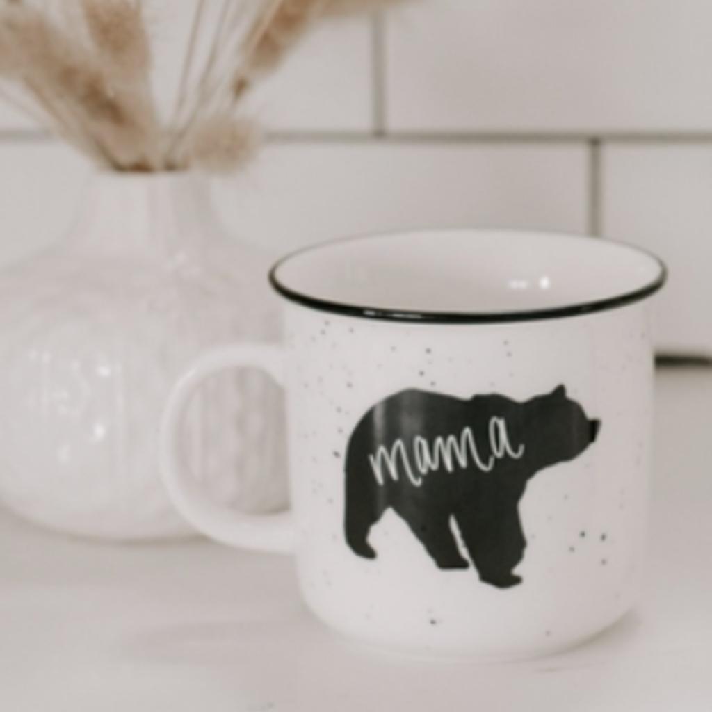 Sweet Water Decor Mama Bear Campfire Mug