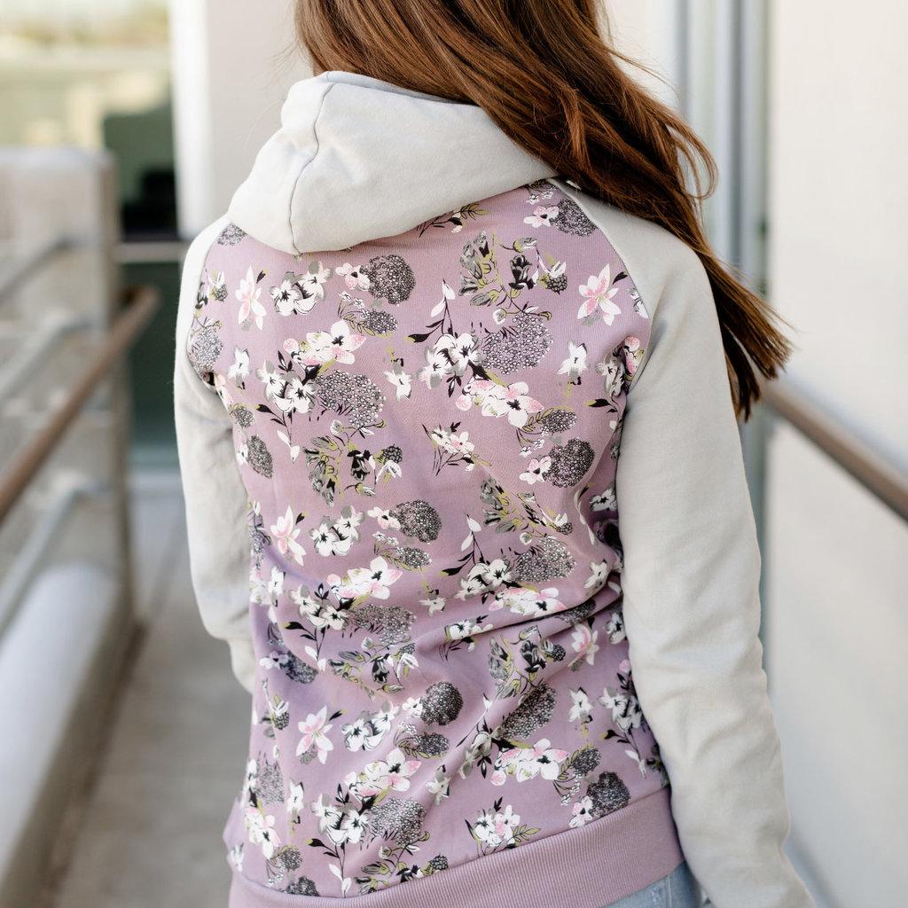 AMPERSAND AVE Lilac Love Fleece Lined Singlehood - Ampersand Ave (S-3XL)