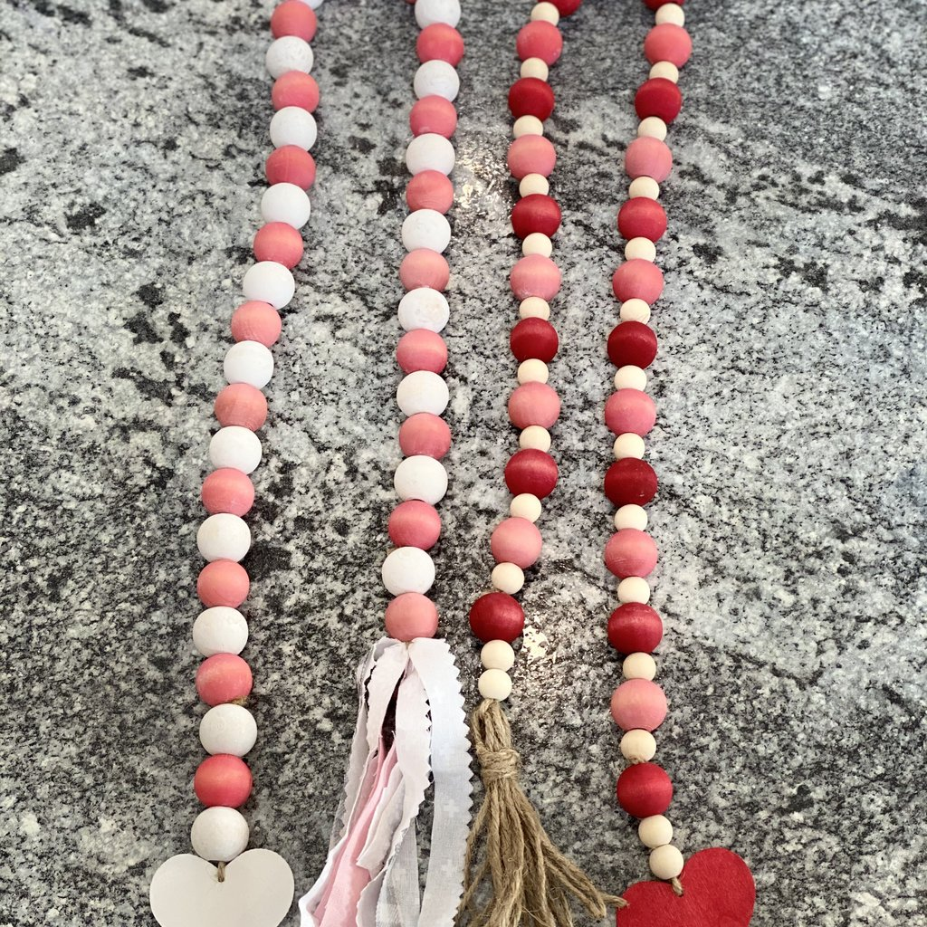 Heart and Home WS Farmhouse Valentine Garlands
