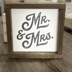 Clairmont & Co Mr & Mrs Sign