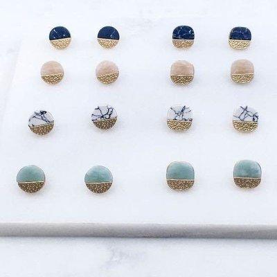 Southern Seoul Stone Earrings
