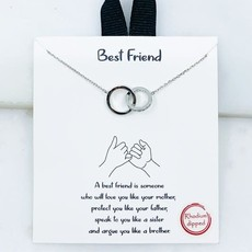 Southern Seoul 18K Gold Dipped Best Friend Necklace