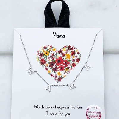 Southern Seoul Mama Gold Dipped Necklace