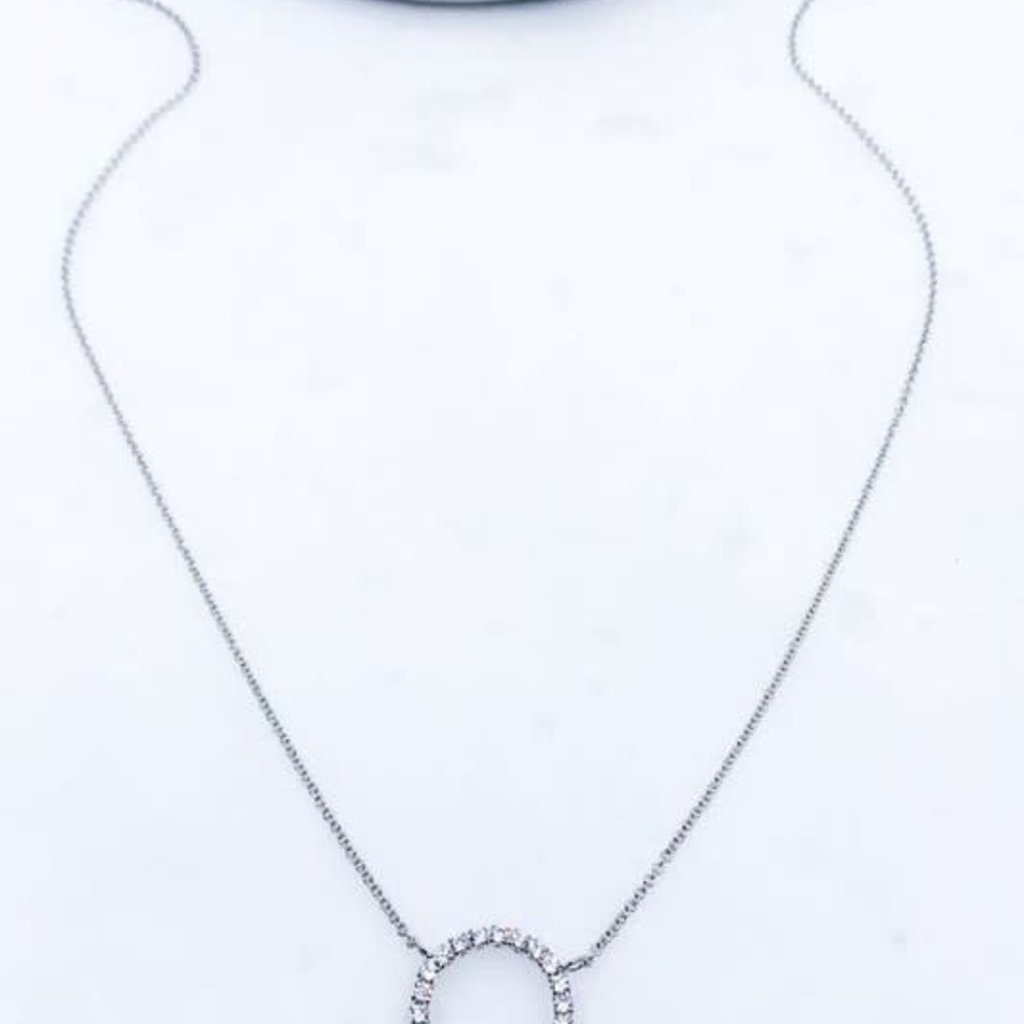 Southern Seoul Stone Pendant Necklace (3 Options)