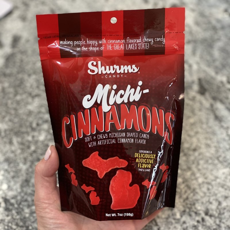 Michi-Gummies Michi-Cinnamons 7oz Resealable Pouch