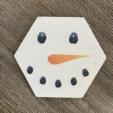 Sincere Surroundings Snowman Coaster
