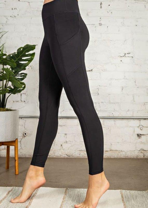 Rae Mode Black Athletic Pocket Leggings (S-L)