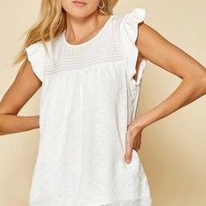 Andree by Unit Ivory Lace Top (S-3XL)