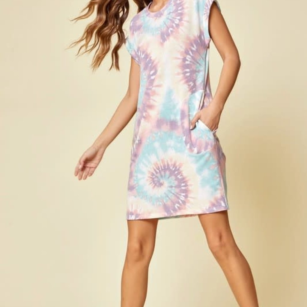 Andree by Unit Spring Tie Dye Dress (S-3XL)