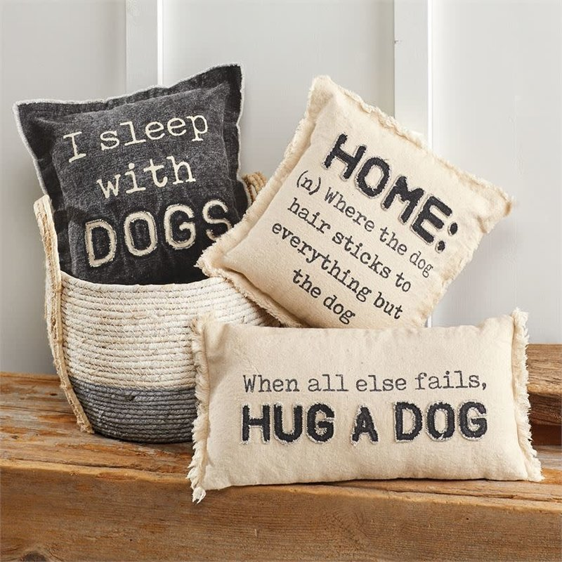 Mud Pie Mud Pie Dog Pillows