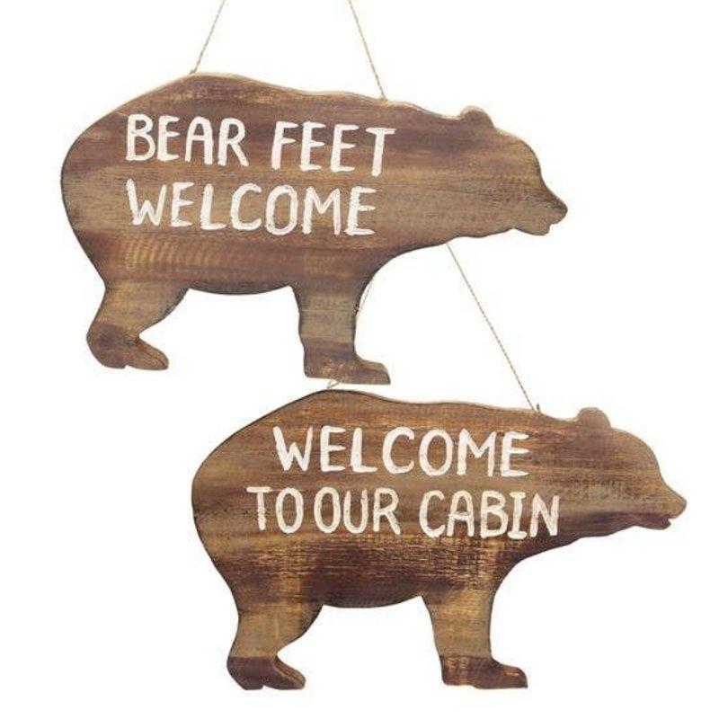 DEI Bear Cabin Signs