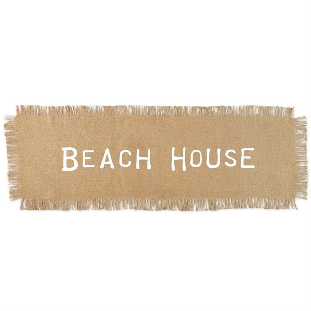 Mud Pie Mud Pie Jute Beach House Table Runner