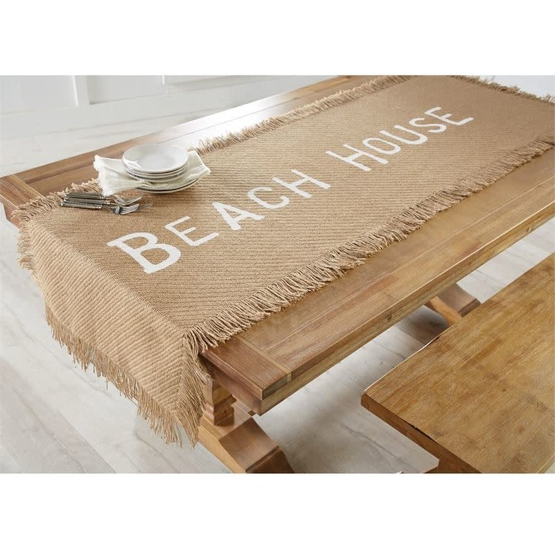 Mud Pie Mud Pie Jute Beach House Table Runner