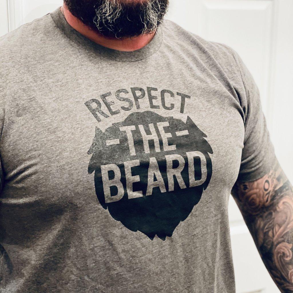 Ocean & 7th Respect the Beard Men's Tee (M-3XL)