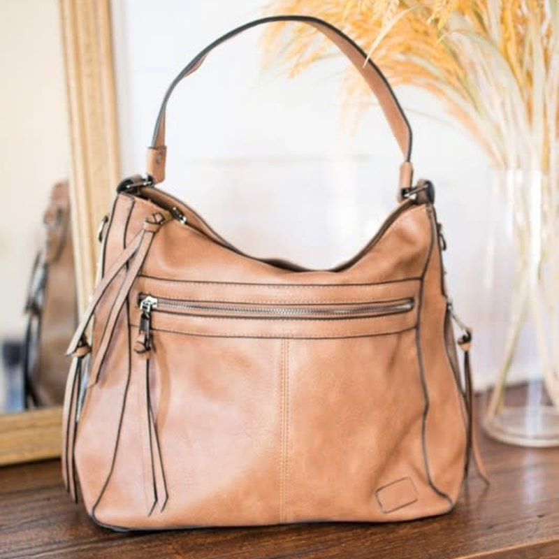 Dani & Em Saige Vegan Leather Handbag (3 Colors)