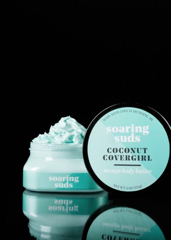 Soaring Suds Soap Co Soaring Suds Soap Co Coconut Covergirl Body Butter