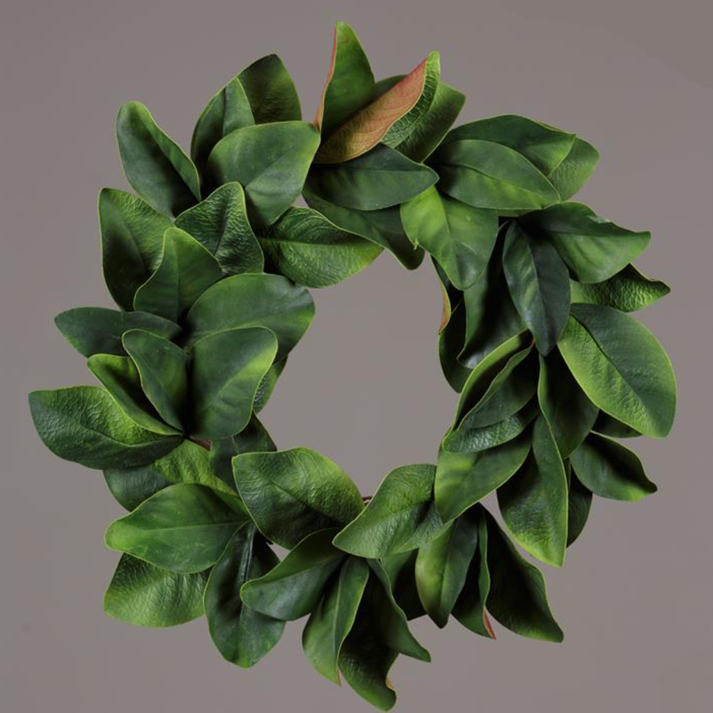 Audrey's Magnolia Leaves Wreath
