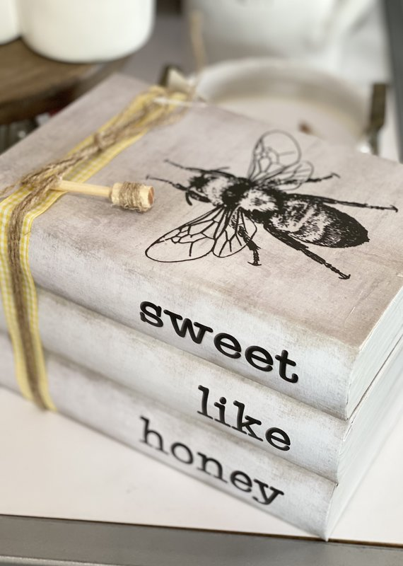 Audrey's Sweet Like Honey Stamped Books