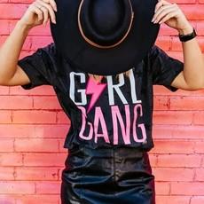 Code Five Black Star Vintage Girl Gang Tee (S-2XL)
