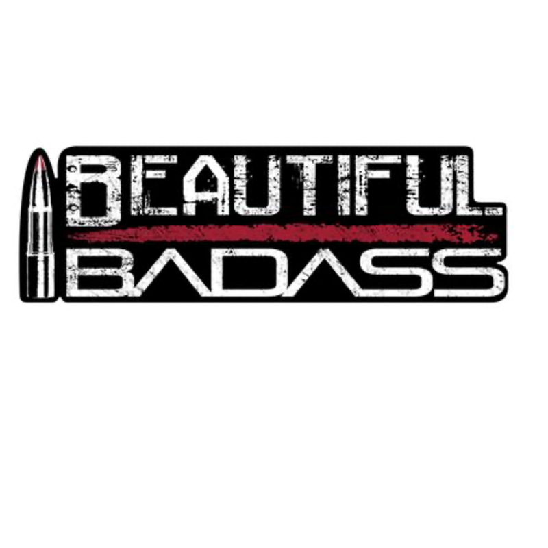 Grunt Style Grunt Style Beautiful Badass Sticker