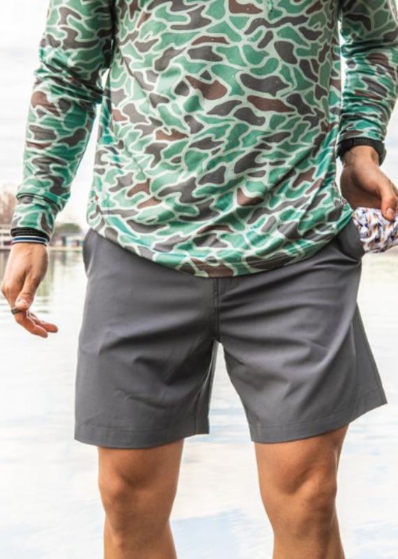 Burlebo Burlebo River Rock Fly Lure Pocket Shorts (M-2XL)