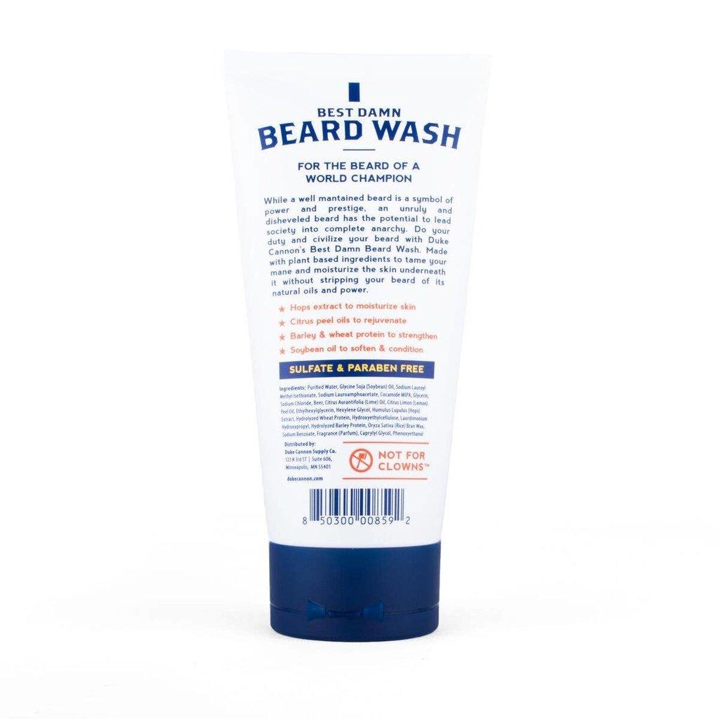 Duke Cannon Duke Cannon Best Damn Beard Wash