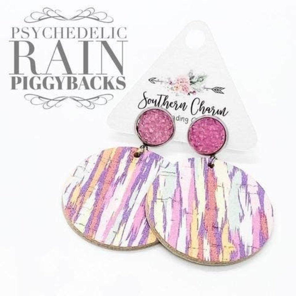 Southern Charm Trading Co Pastel Rain Dangle Earrings