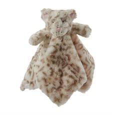 Mud Pie Mud Pie Leopard Bear Plush Woobie