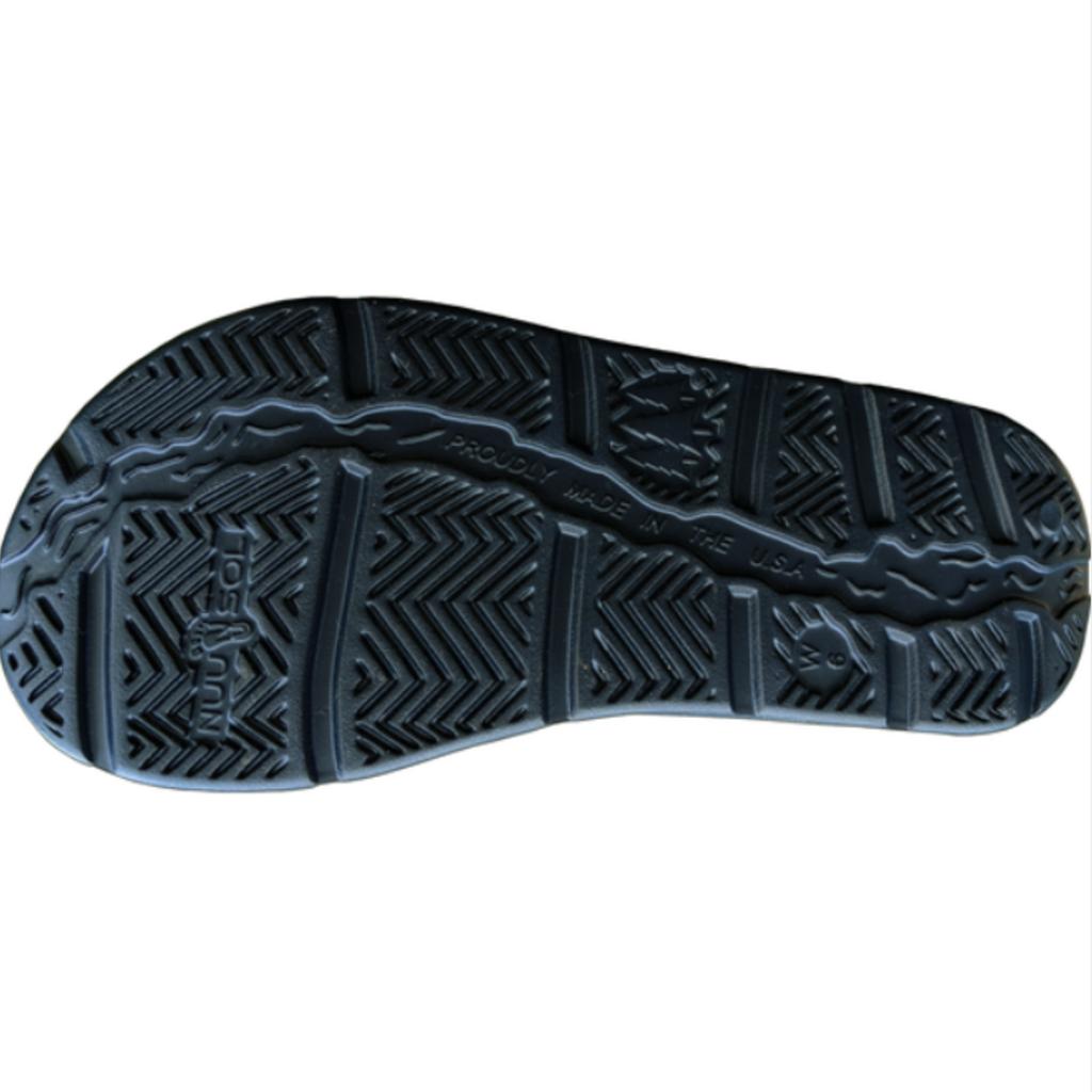NuuSol NuuSol Men's Stanley Black Eclipse Slides