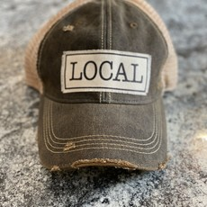 Vintage Life Local Distressed Trucker Hat
