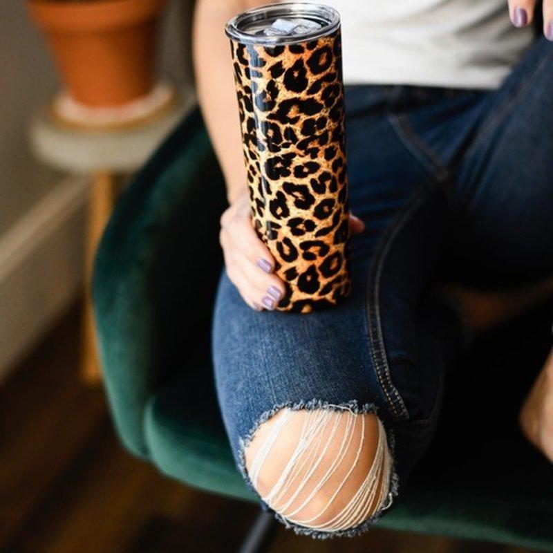 Julia Rose 20oz Leopard Tumbler
