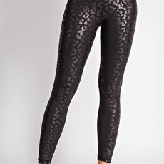 Rae Mode Solid Black Leopard Leggings (S-3XL)