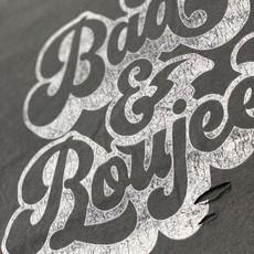 Bella Canvas Black Destroyed Bad & Boujee Tee (XS-2XL)