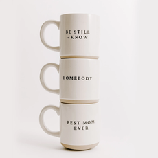 Sweet Water Decor Speckled Coffee Mugs (3 Sayings)